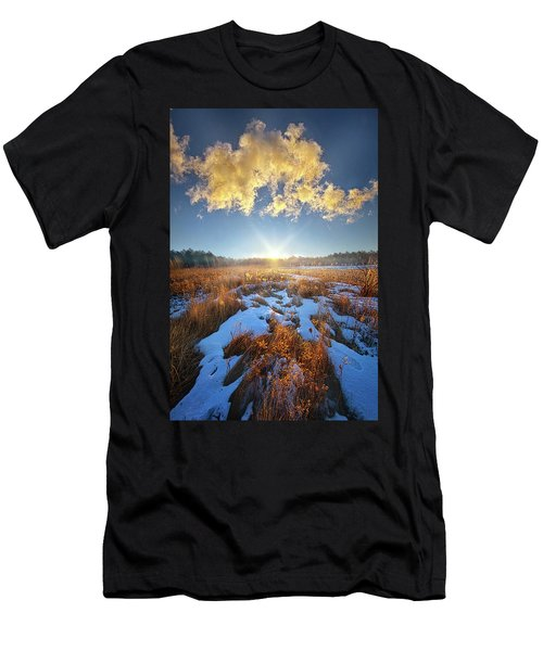 Men's T-Shirt (Athletic Fit) featuring the photograph Bound Within The Silence by Phil Koch
