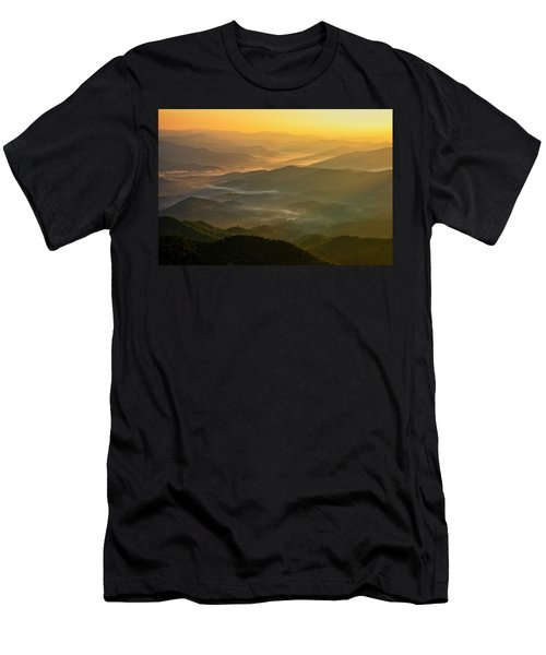 Brasstown Bald Mists Men's T-Shirt (Athletic Fit)