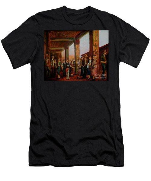 Bread Line Men's T-Shirt (Athletic Fit)