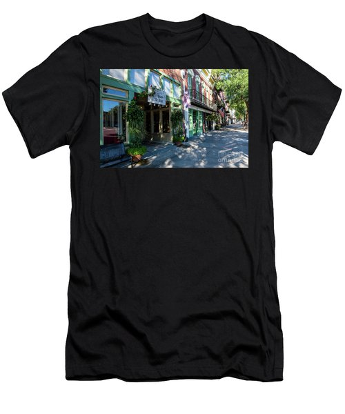 Broad Street Downtown Augusta Ga Men's T-Shirt (Athletic Fit)
