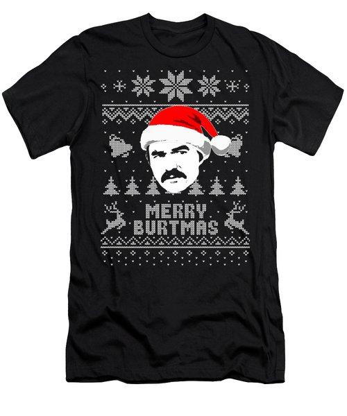 Burt Reynolds Christmas Shirt Men's T-Shirt (Athletic Fit)