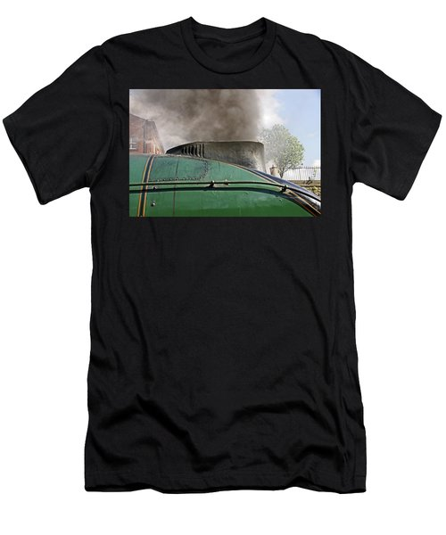 Bury. East Lancashire Railway. 60009 Union Of South Af Men's T-Shirt (Athletic Fit)