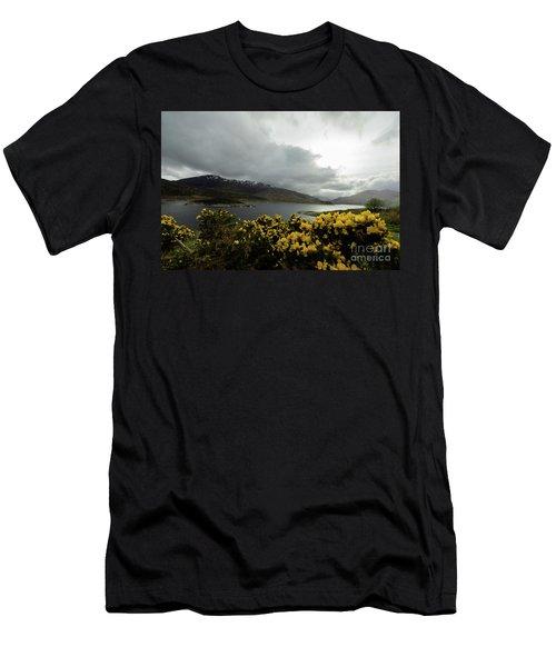 Buttercream Solitude Men's T-Shirt (Athletic Fit)
