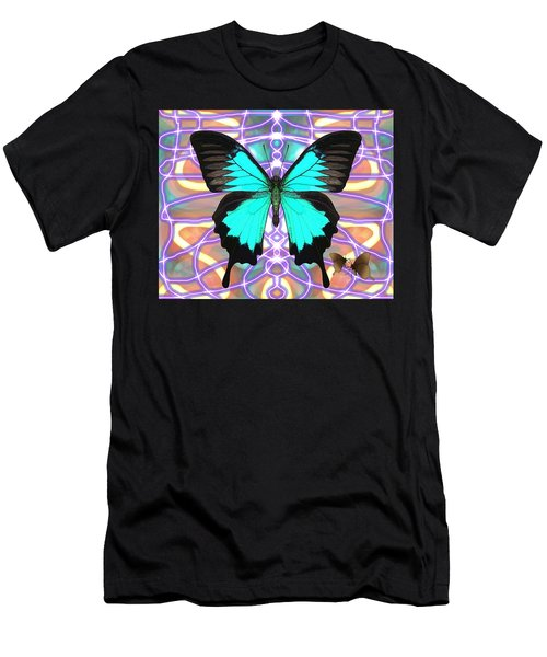 Butterfly Patterns 20 Men's T-Shirt (Athletic Fit)