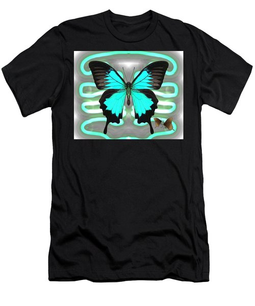Butterfly Patterns 24 Men's T-Shirt (Athletic Fit)
