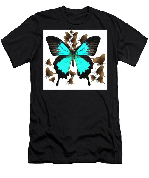 Ulysses Butterfly All A Flutter Men's T-Shirt (Athletic Fit)