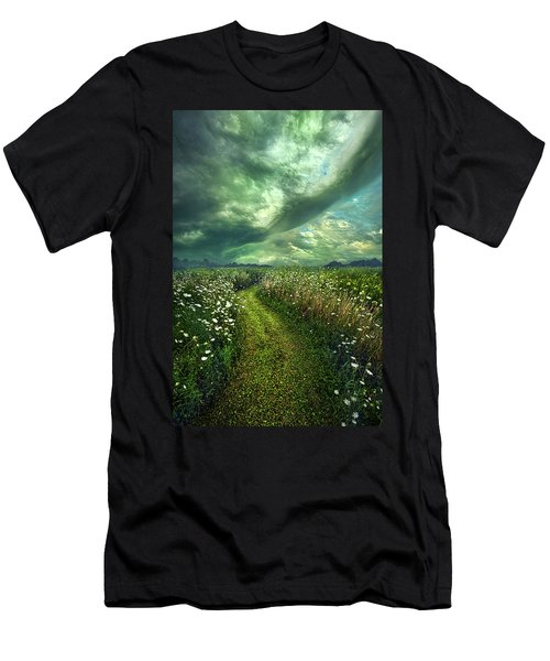 Men's T-Shirt (Athletic Fit) featuring the photograph By The By by Phil Koch