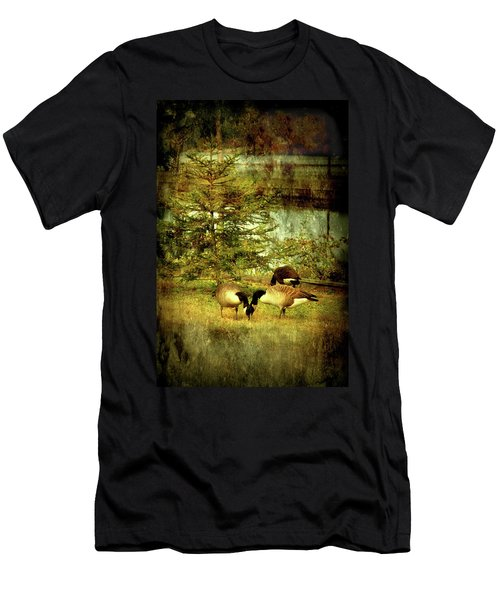 By The Little Tree - Lake Carasaljo Men's T-Shirt (Athletic Fit)