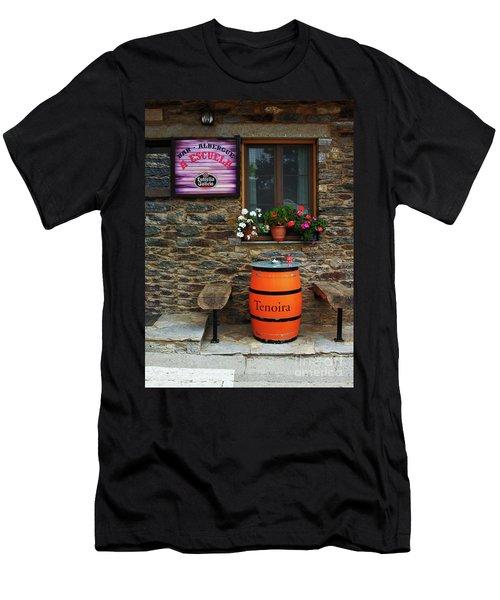 Camino Pilgrim's Repast Men's T-Shirt (Athletic Fit)