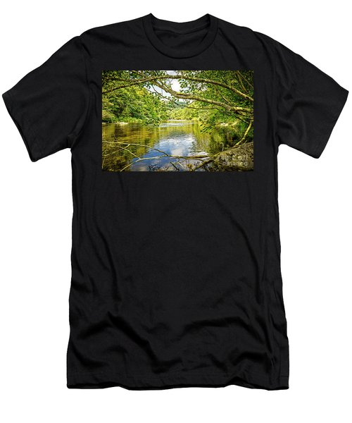 Canal Pool Men's T-Shirt (Athletic Fit)