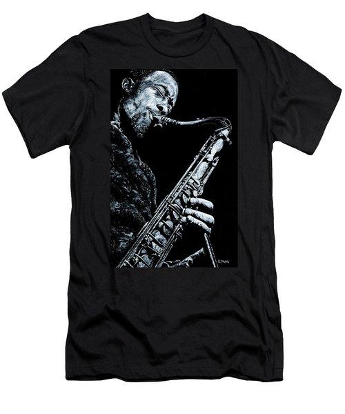 Casual Sax Men's T-Shirt (Athletic Fit)