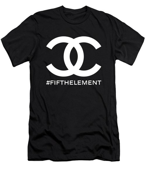 Chanel Fifth Element-2 Men's T-Shirt (Athletic Fit)