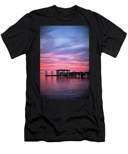 Charleston Harbor Sunrise II Men's T-Shirt (Athletic Fit)