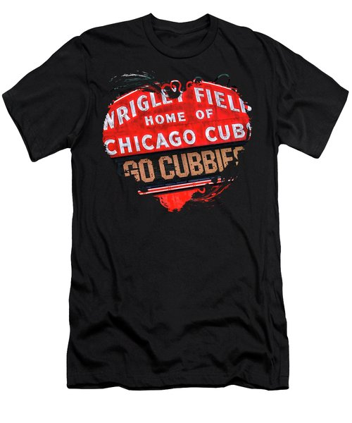 Chicago Cubs Wrigley Field Men's T-Shirt (Athletic Fit)