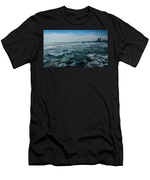 Chicago From Navy Pier 2 Men's T-Shirt (Athletic Fit)