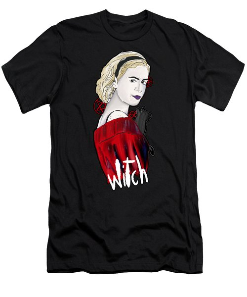 Chilling Adventures Sabrina Is A Witch Men's T-Shirt (Athletic Fit)