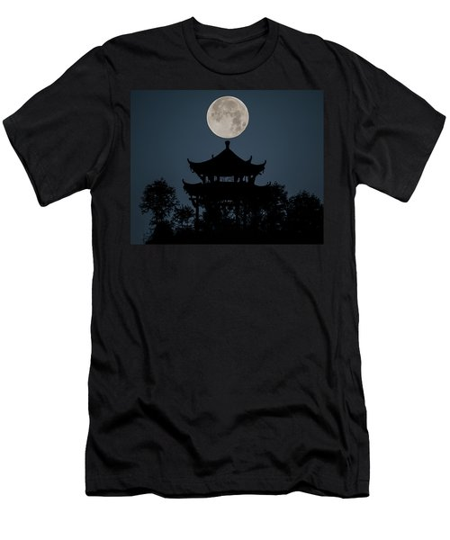 China Moon Men's T-Shirt (Athletic Fit)