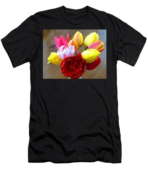 Choice Tulips Men's T-Shirt (Athletic Fit)