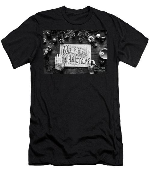 Christmas 1 Men's T-Shirt (Athletic Fit)