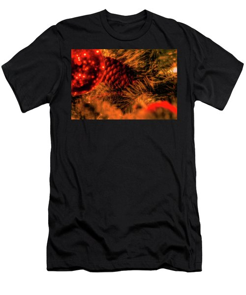 Men's T-Shirt (Athletic Fit) featuring the photograph Christmas Evergreen by Allin Sorenson