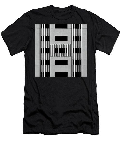 City Grids 64 Men's T-Shirt (Athletic Fit)