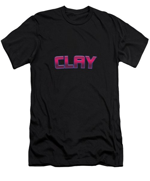 Clay Men's T-Shirt (Athletic Fit)