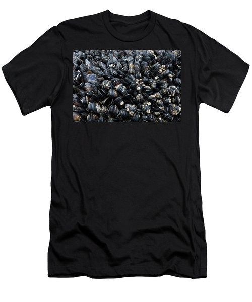 Close-up Of Barnacle, Cannon Beach Men's T-Shirt (Athletic Fit)