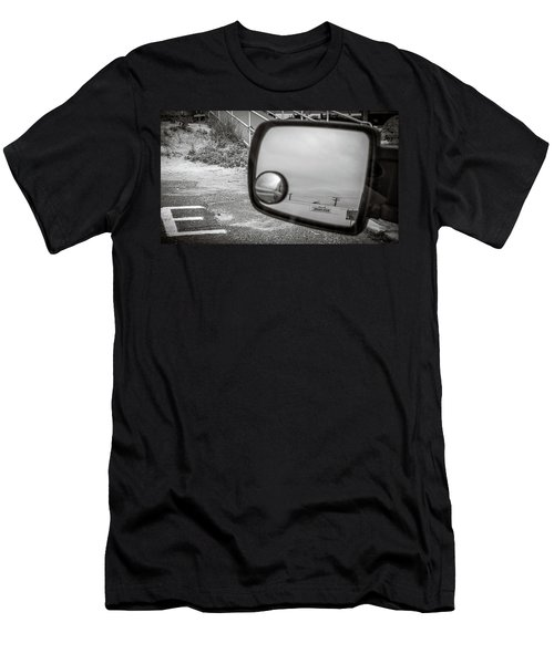 Cloudy Day Reflection Men's T-Shirt (Athletic Fit)