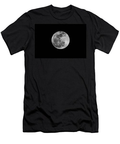 Full Cold Moon Men's T-Shirt (Athletic Fit)