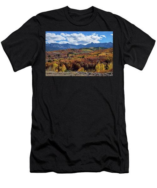 Men's T-Shirt (Athletic Fit) featuring the photograph Colorado Color Lalapalooza by James BO Insogna