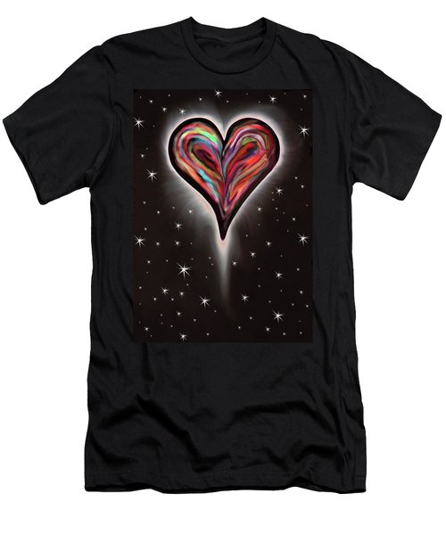 fdbad0e1772 Colorful Total Eclipse Of The Heart 1 Men s T-Shirt (Athletic Fit)