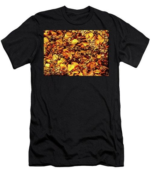 Colours. Autumn Gold Men's T-Shirt (Athletic Fit)