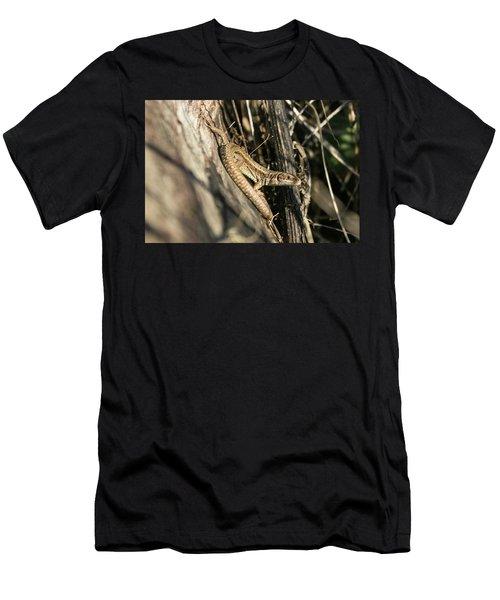 Common Lizard Men's T-Shirt (Athletic Fit)
