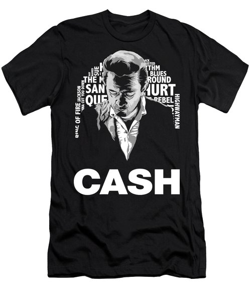 Cool Cash Man Men's T-Shirt (Athletic Fit)