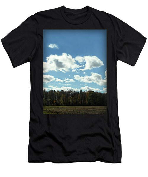 Country Atumn Curves 9 Men's T-Shirt (Athletic Fit)