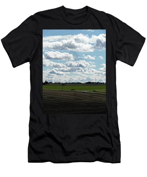 Country Autumn Curves 4 Men's T-Shirt (Athletic Fit)