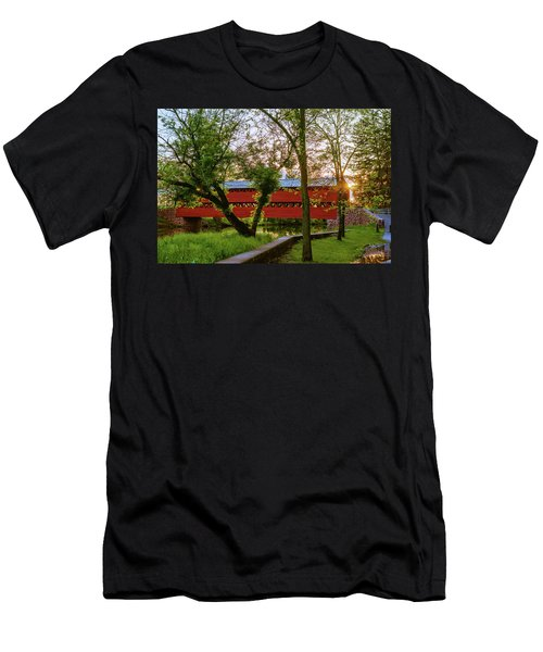 Covered Through Tree Men's T-Shirt (Athletic Fit)