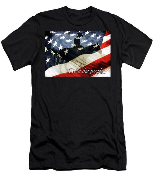 Cowboy Patriot Men's T-Shirt (Athletic Fit)