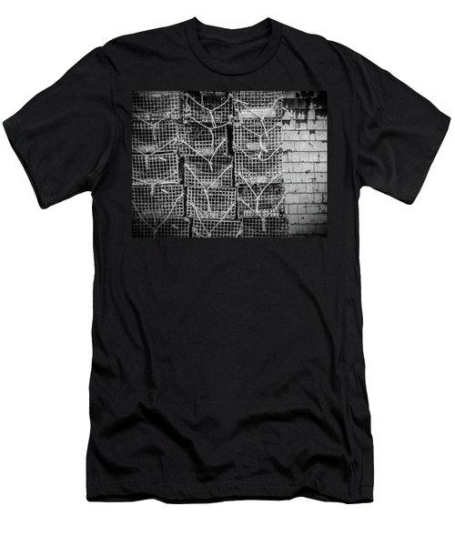 Crab Traps Men's T-Shirt (Athletic Fit)