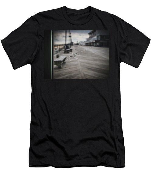 Crack Men's T-Shirt (Athletic Fit)
