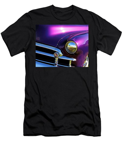 Custom Purple Chevy Men's T-Shirt (Athletic Fit)