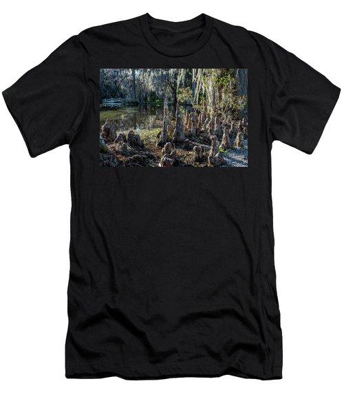 Cypress Pilgrimage Men's T-Shirt (Athletic Fit)