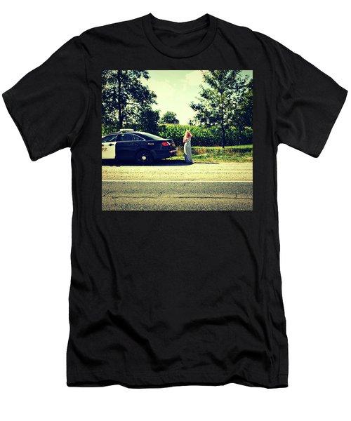 Damsel In Distress Men's T-Shirt (Athletic Fit)