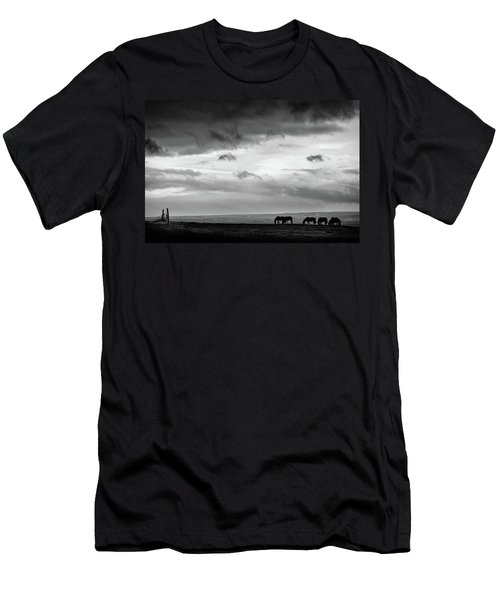Days End At Hvammstangi Men's T-Shirt (Athletic Fit)