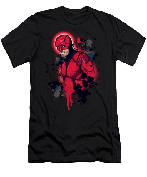 Devil Of Hell's Kitchen Men's T-Shirt (Athletic Fit)