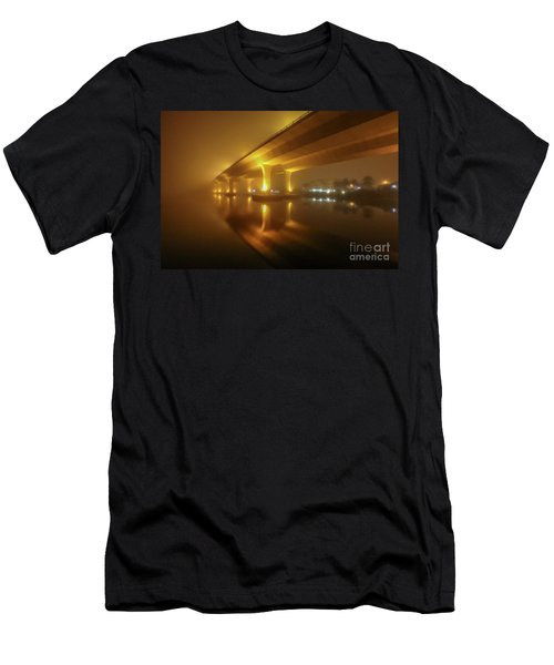 Disappearing Bridge Men's T-Shirt (Athletic Fit)