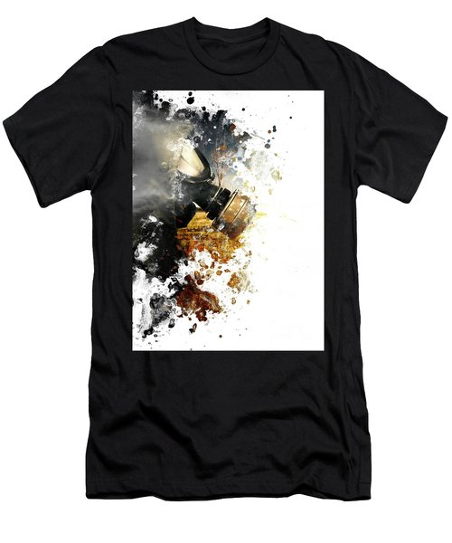 Disaster Of War And Gas Men's T-Shirt (Athletic Fit)