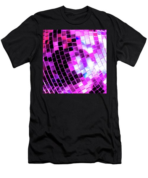 Disco Ball 1 Men's T-Shirt (Athletic Fit)
