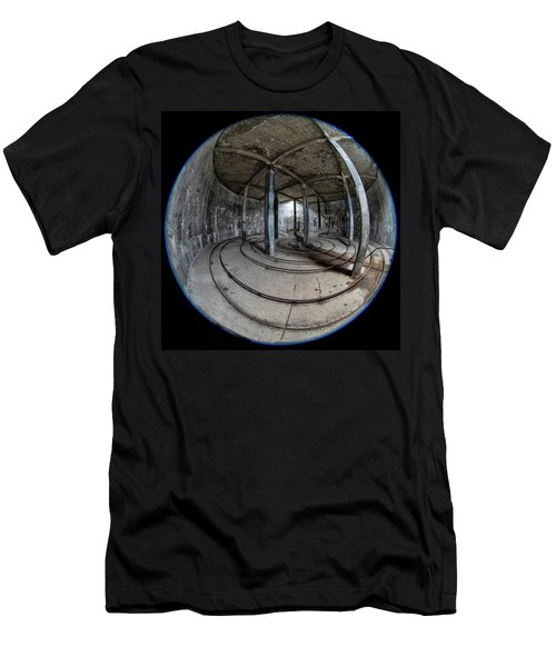 Djupavik Cannery Herring Oil Tank Men's T-Shirt (Athletic Fit)