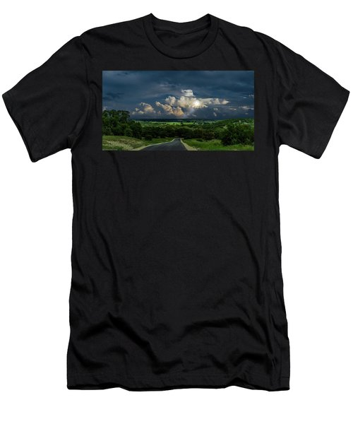 Down Hill From Here Men's T-Shirt (Athletic Fit)